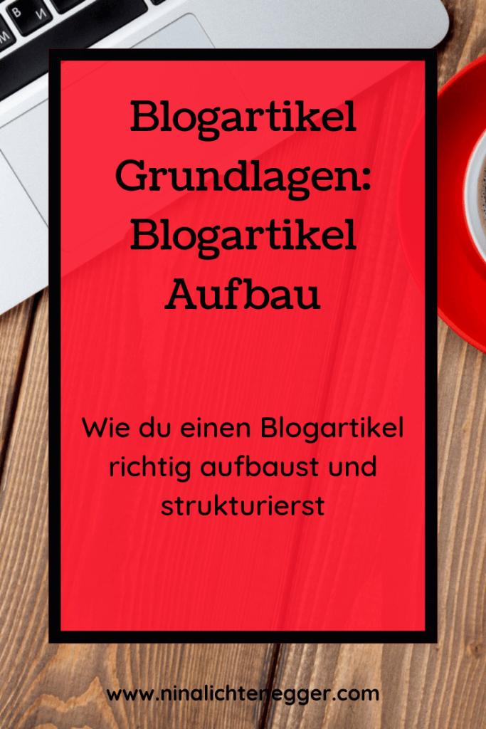 Blogartikel Grundlagen