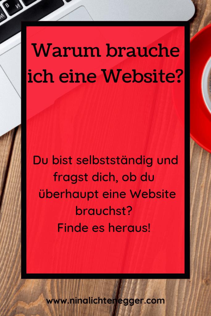 Warum du eine Website brauchst